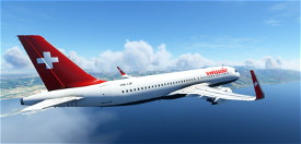 A320 SwissAir | 4K Image Flight Simulator 2020