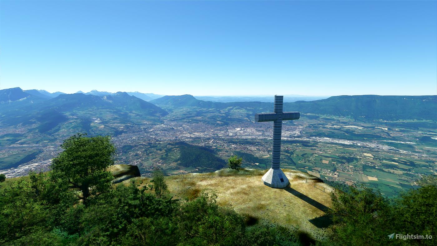 Croix du Nivolet Microsoft Flight Simulator