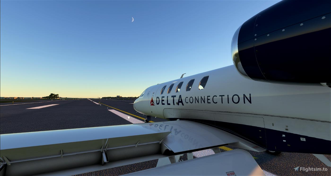 Delta  Connection CJ4