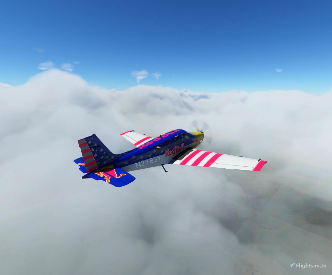 RedBull Bonanza Flight Simulator 2020