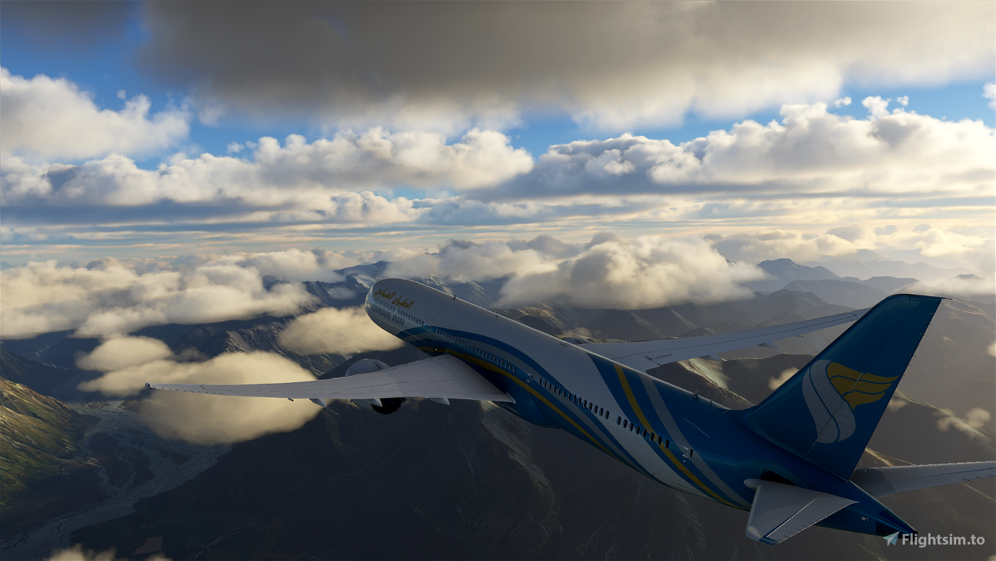 OMAN AIR  Flight Simulator 2020