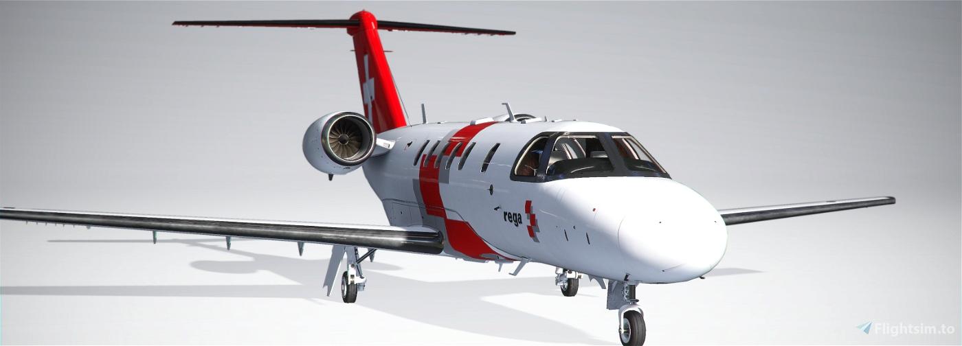 Rega Jet - Citation CJ4 Edition Image Flight Simulator 2020