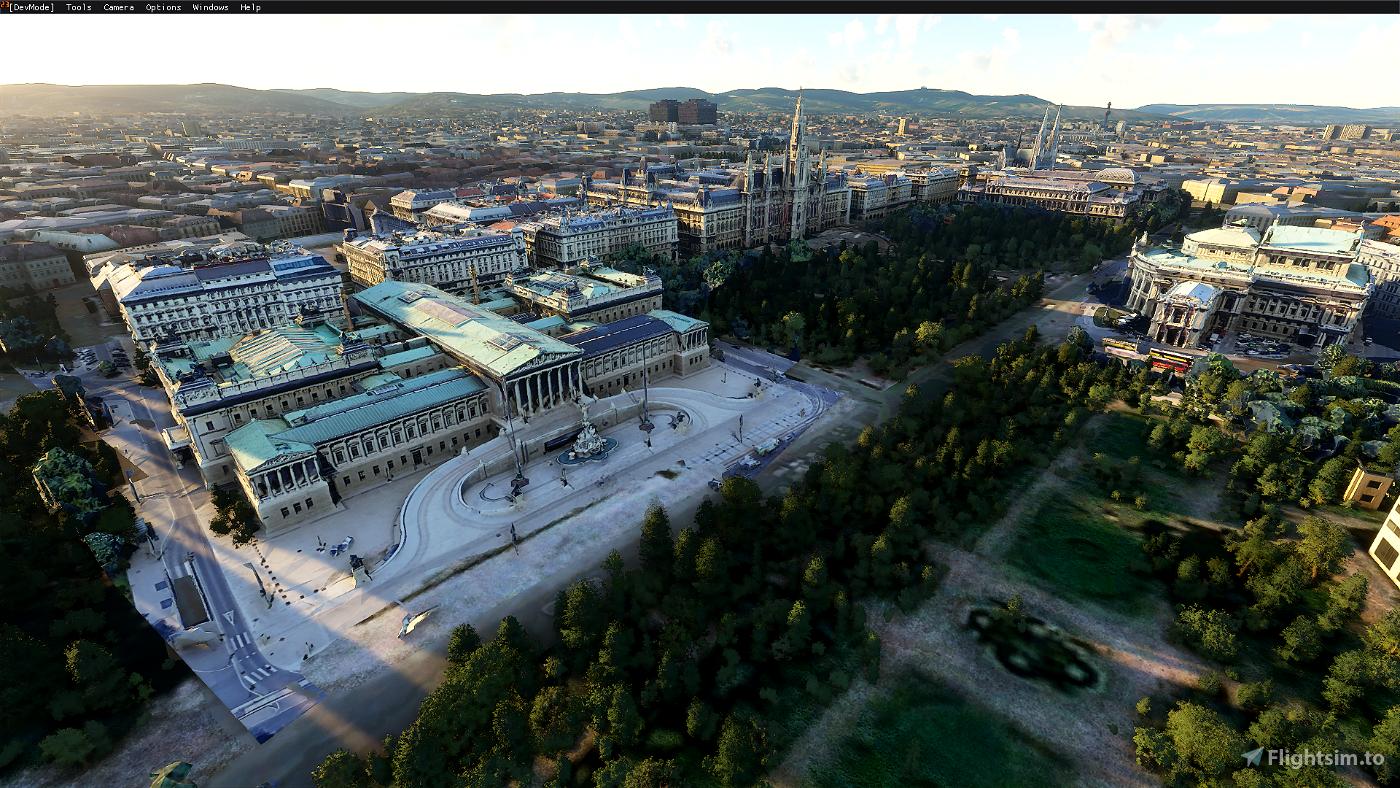Vienna Landmark Pack - v1.9 Image Flight Simulator 2020