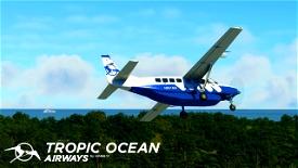 Tropic Air Cessna 208b Grand Caravan EX Livery Image Flight Simulator 2020