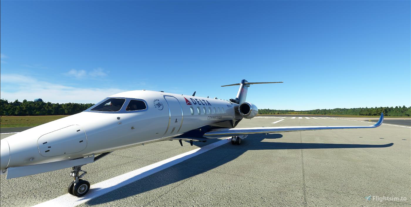 Delta Connection Longitude Flight Simulator 2020