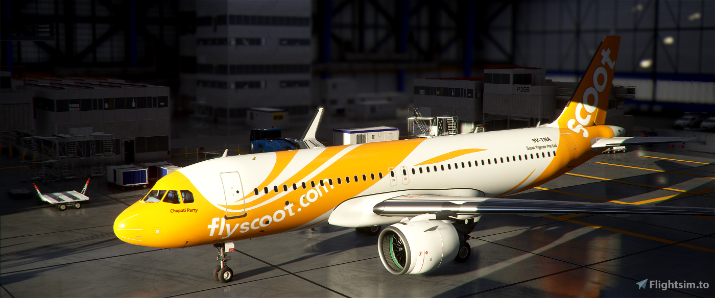 A320neo Scoot Airlines