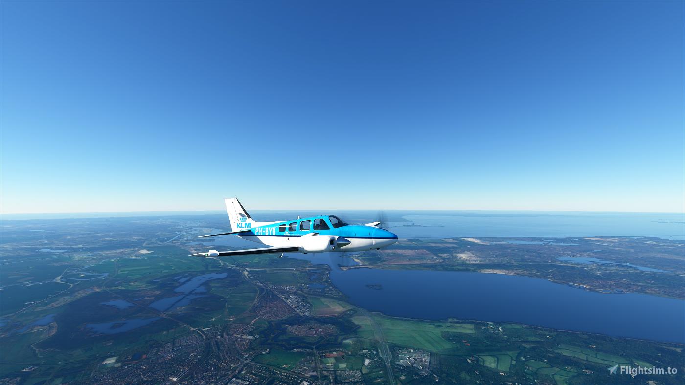 KLM G58 Baron