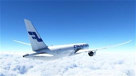Boeing 787 - Finnair Image Flight Simulator 2020