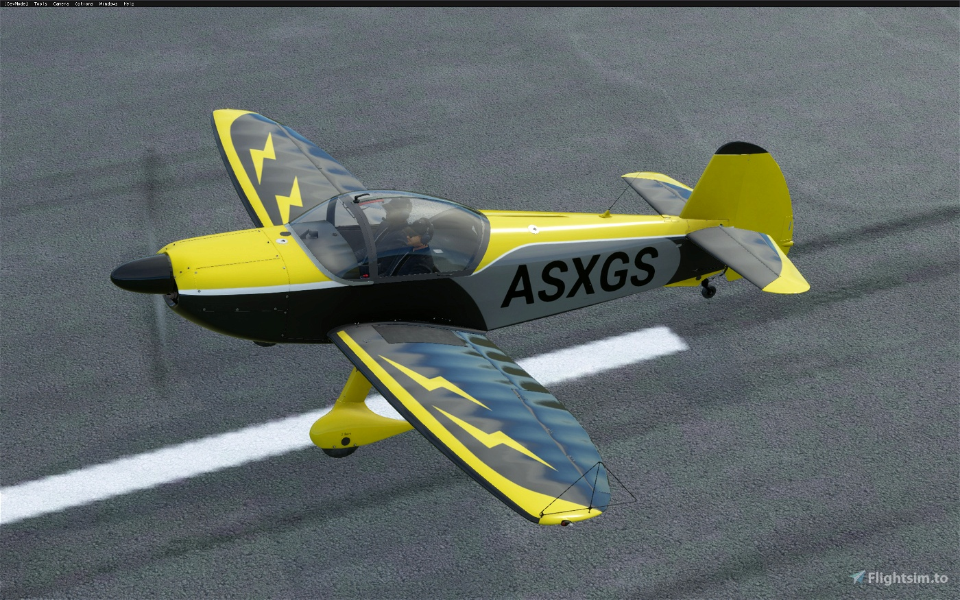 Robin CAP 10c - Lightning (4 colors) Image Flight Simulator 2020