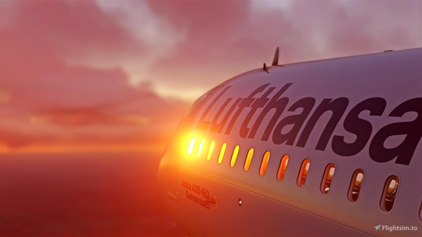 Lufthansa Livery - Ultra Resolution Flight Simulator 2020
