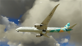 Drag and Drop Etihad 787-10 Green Special Scheme A6-BMH Image Flight Simulator 2020