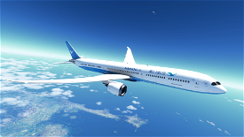 787-10 Xiamen Air Image Flight Simulator 2020