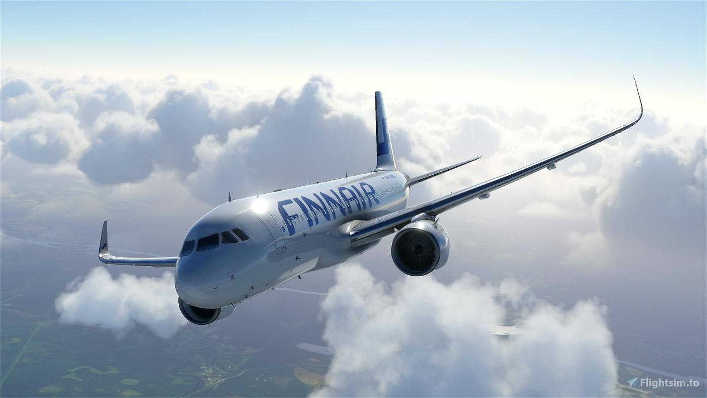 Airbus 320 NEO - Finnair - HighRes