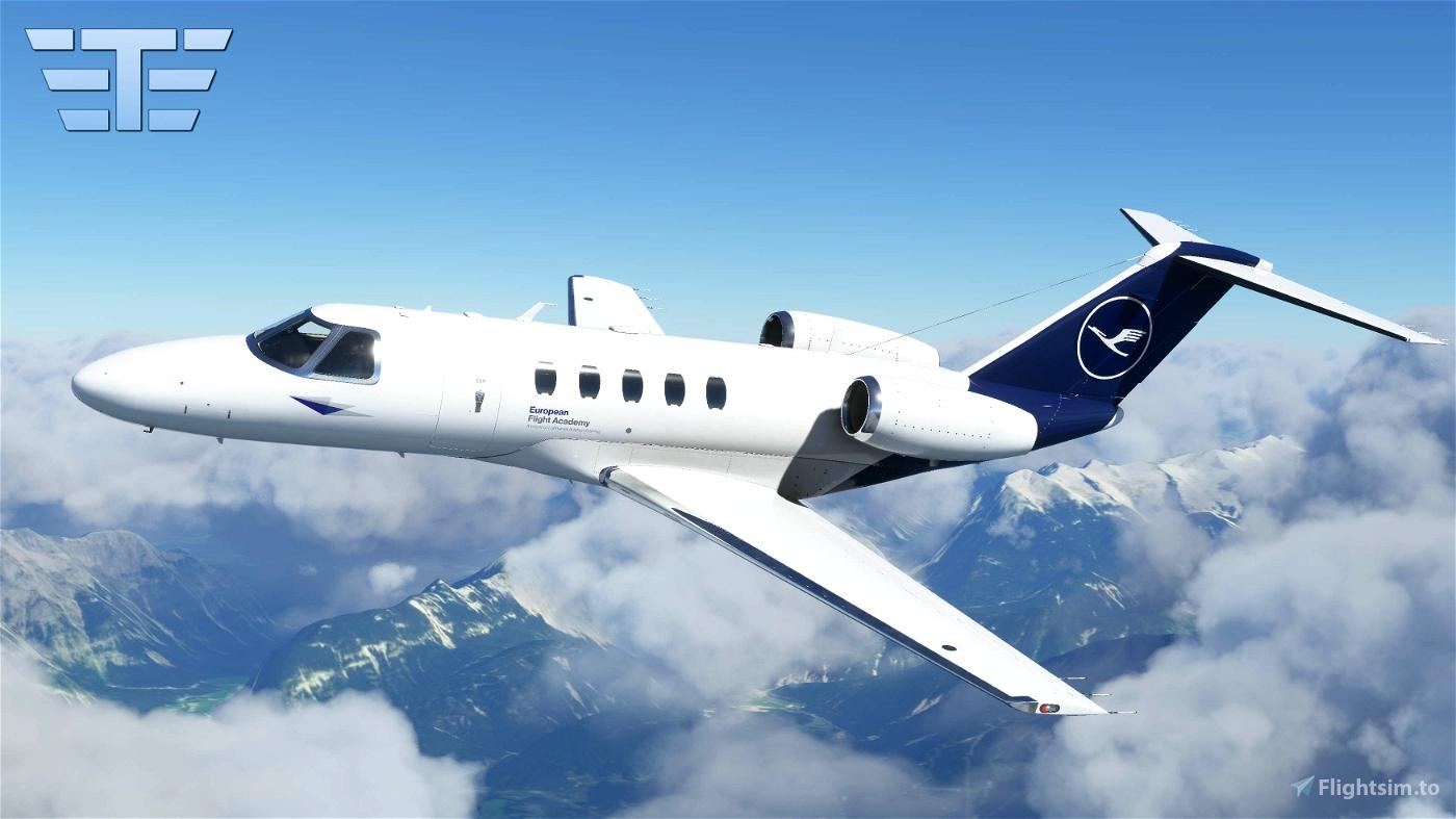 MSFS2020 - Asobo - Cessna Citation CJ4 - Lufthansa Flight Academy Flight Simulator 2020