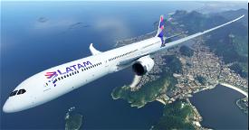 LATAM 787 8K (Chile)  Image Flight Simulator 2020