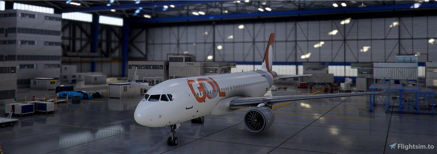 A32N Gol airlines Flight Simulator 2020