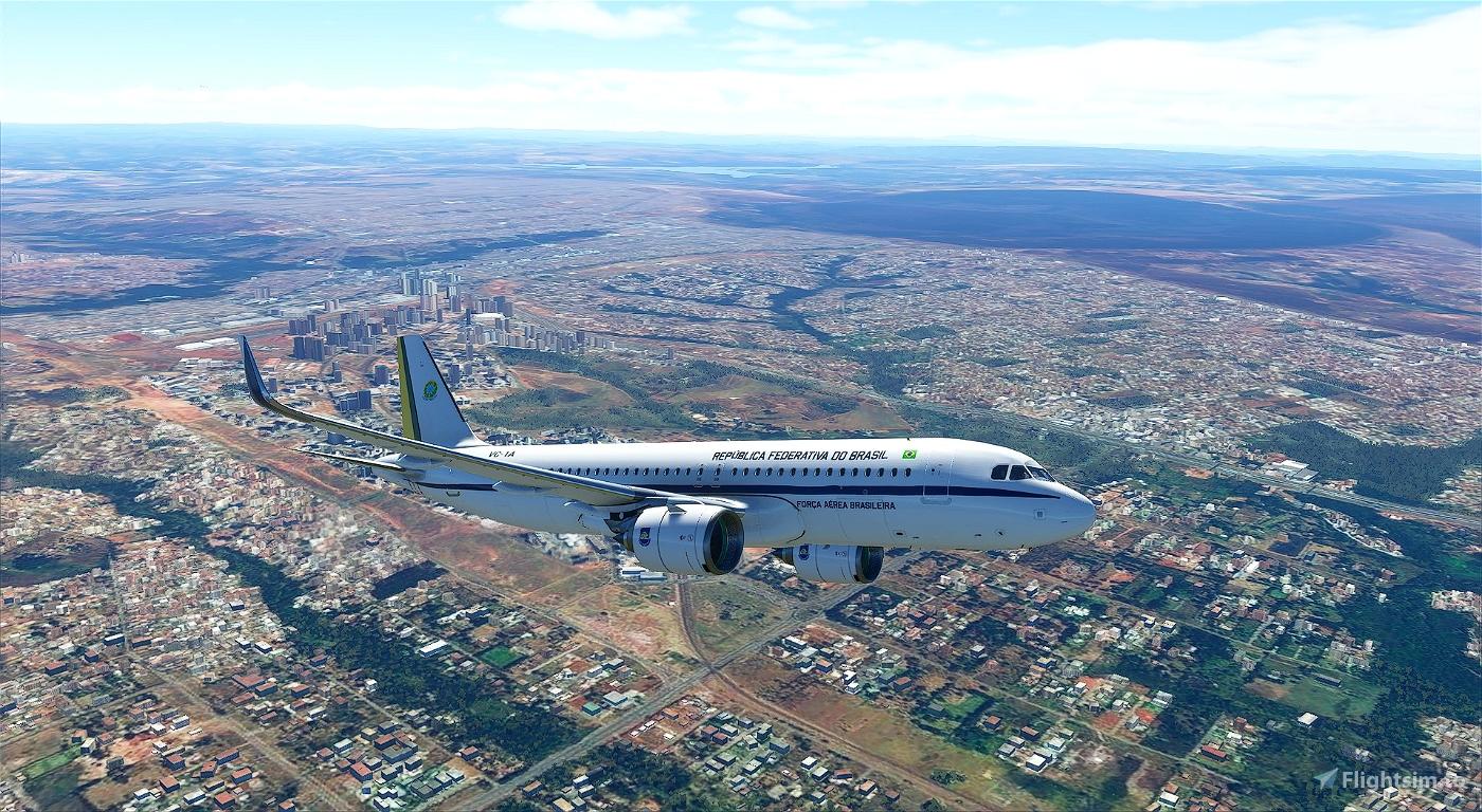 Brazilian Air Force One - Old Flight Simulator 2020