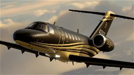 Citation CJ4 - Carbon Gold [ 4K | 2K ] Image Flight Simulator 2020