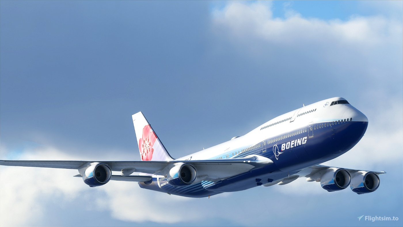 B747 China Airlines