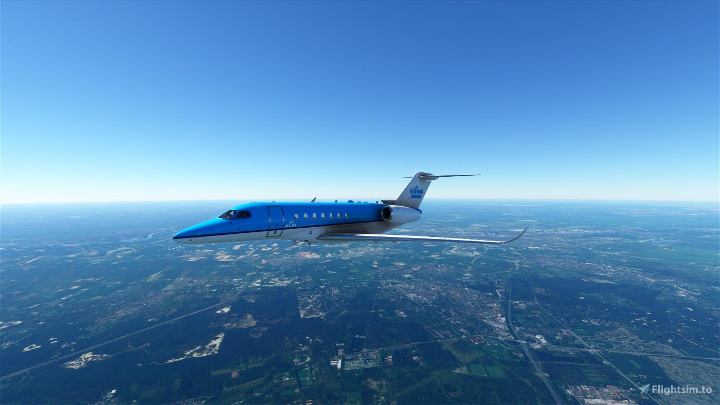 KLM Longitude Flight Simulator 2020