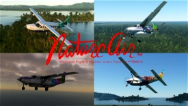 Nature Air Cessna 208b Grand Caravan EX Livery Pack Image Flight Simulator 2020