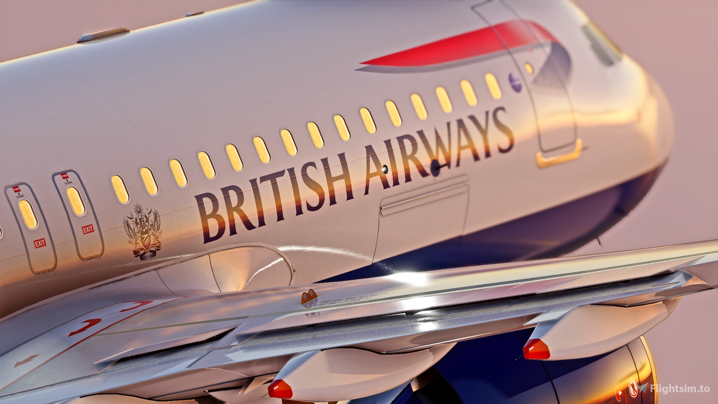 British Airways Livery - Ultra  Flight Simulator 2020