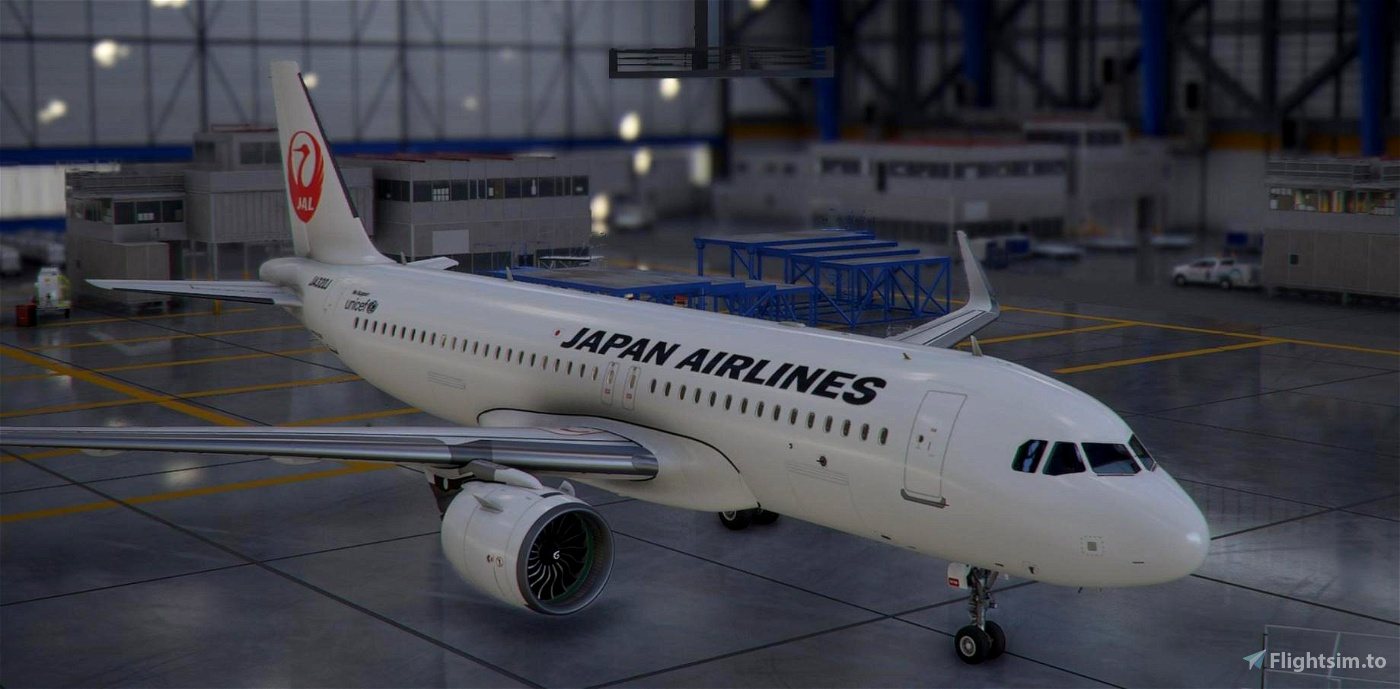 A320neo Japan Airlines [8K]