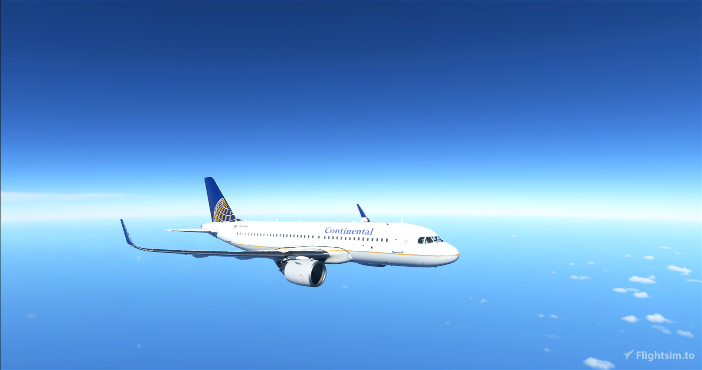 A320 Neo Continental Airlines