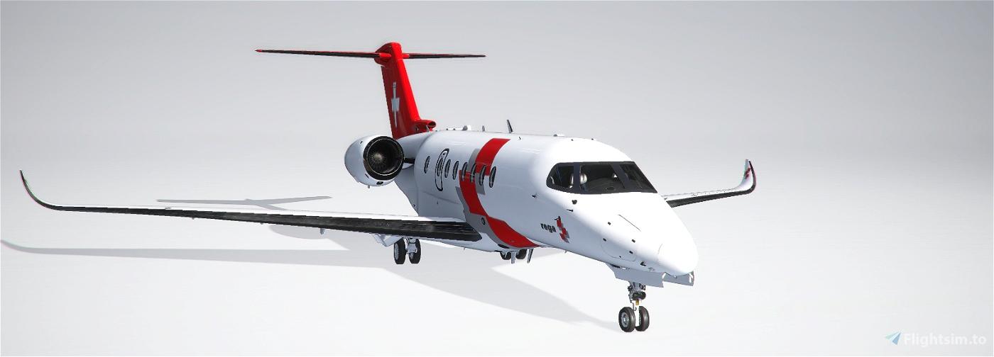 Rega Jet - Citation Longitude Edition Flight Simulator 2020