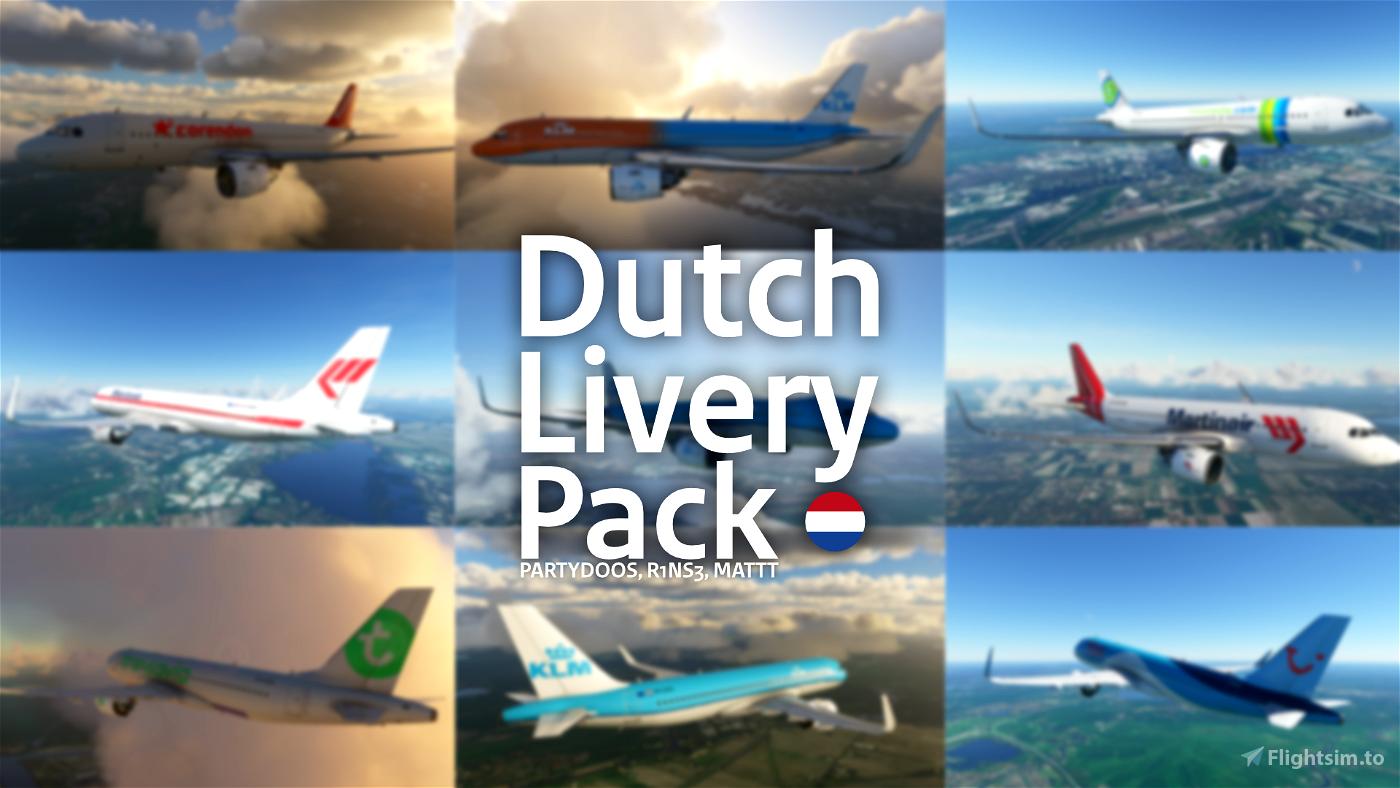 Dutch Livery Pack Flight Simulator 2020