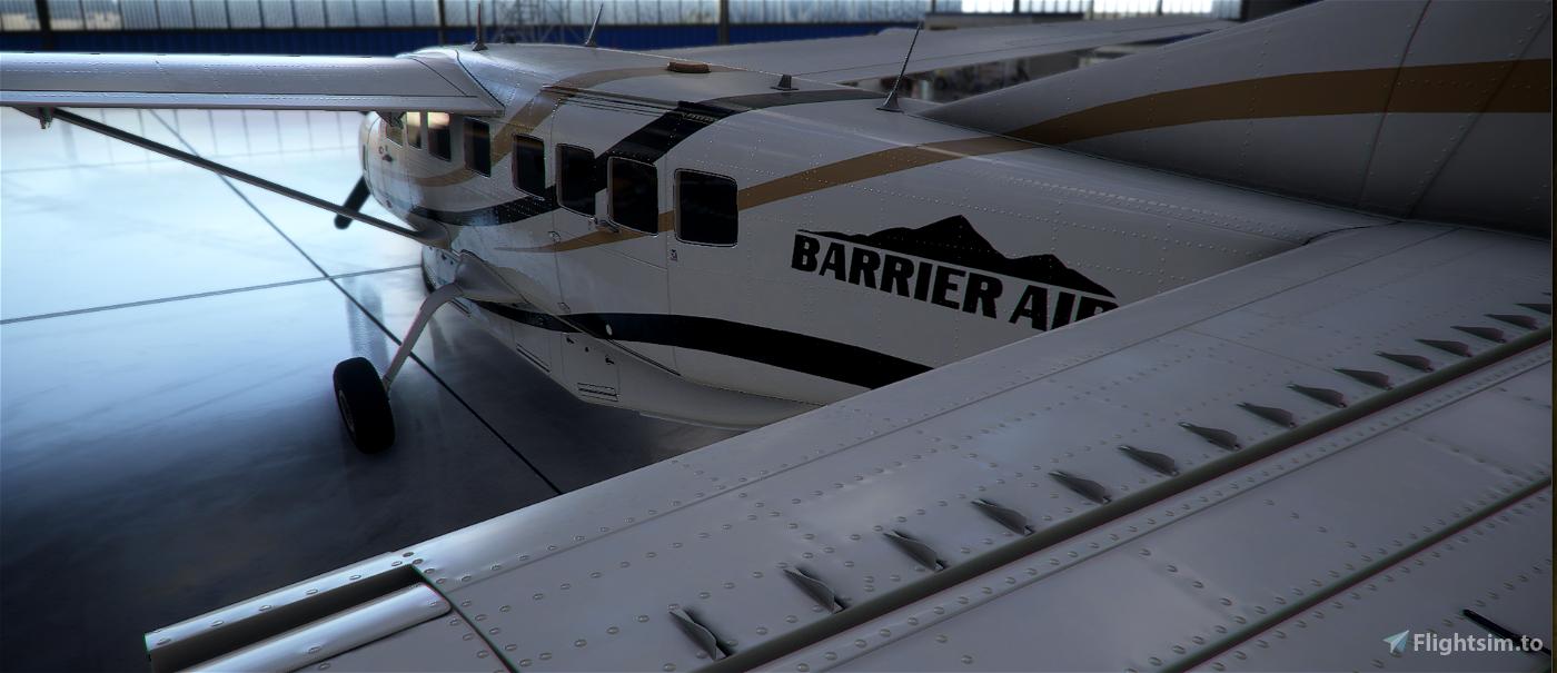 New Zealand Barrier Air Caravan 208