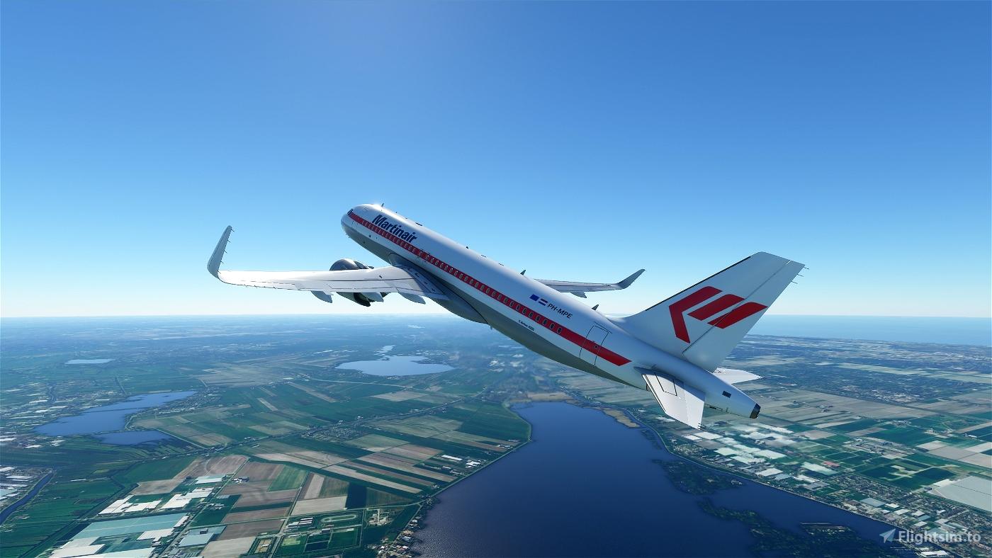 Martinair A320 Flight Simulator 2020