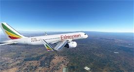 A320 Ethiopian Airlines | 4K Image Flight Simulator 2020