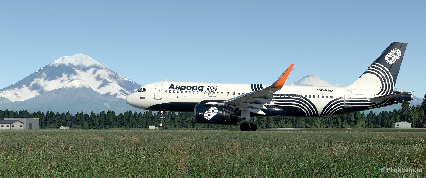 Aurora Airlines VQ-BBD