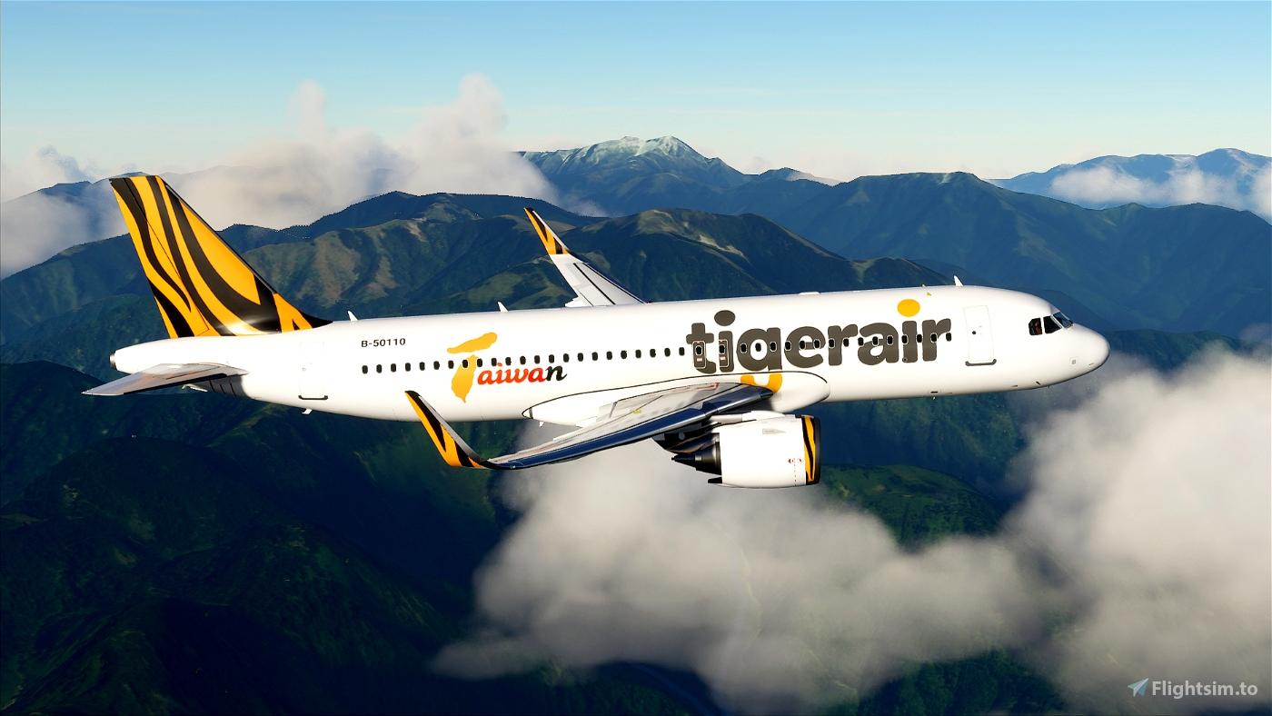 Tigerair Taiwan A320neo Flight Simulator 2020