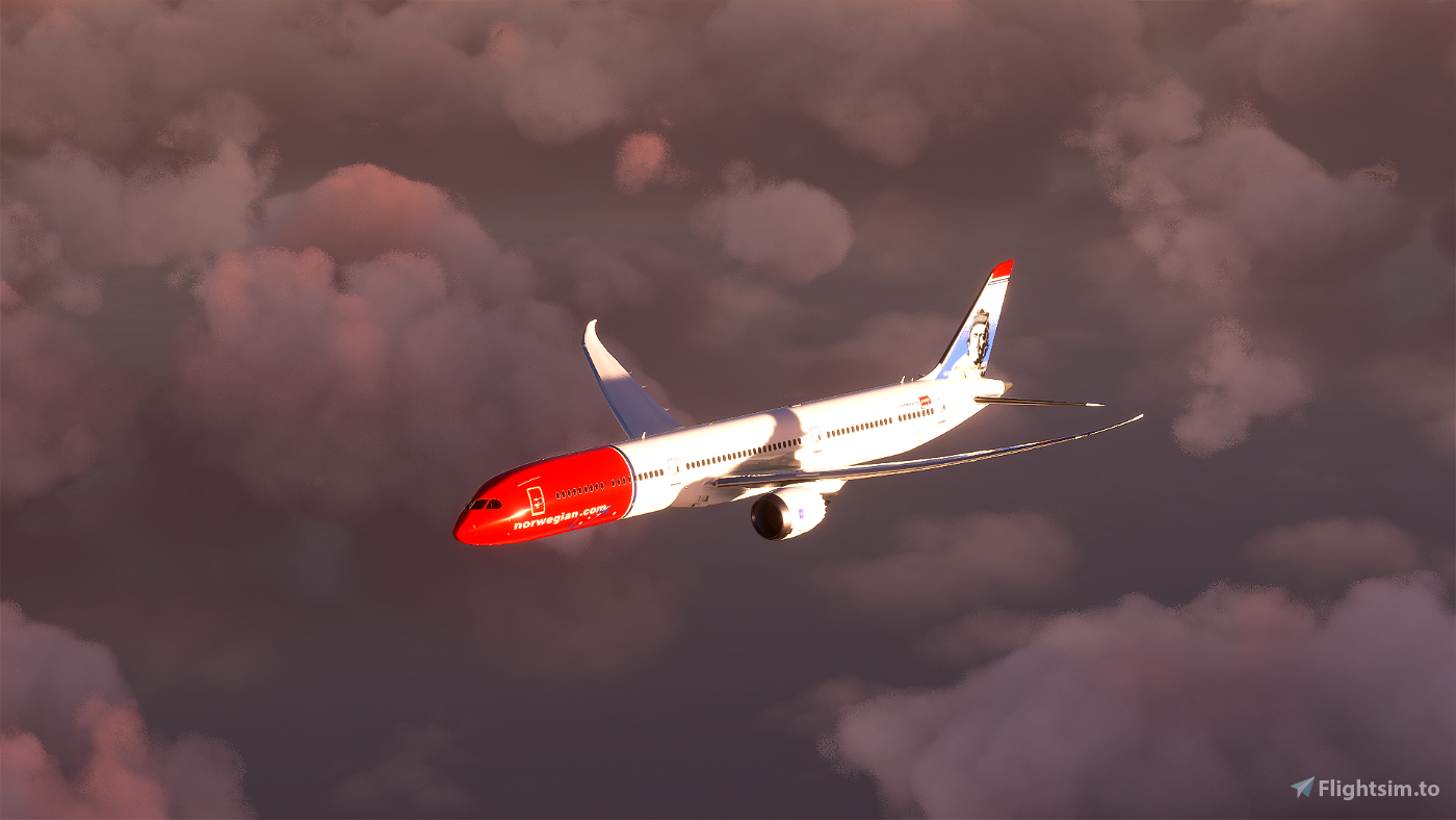 Norwegian 787 - Highly accurate (Patch 1.10.7.0 fixed)