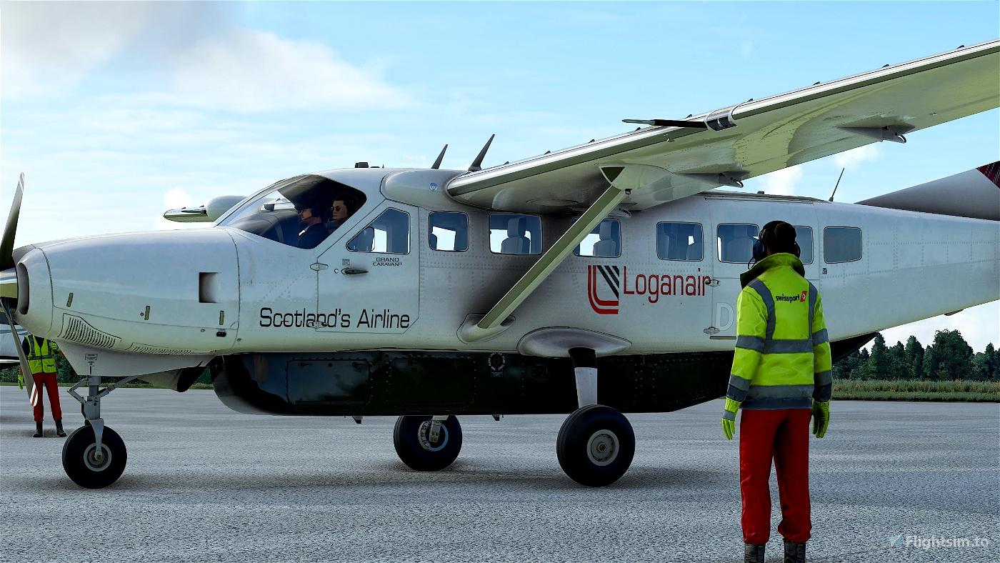 Cessna 208B Grand Caravan LoganAir Flight Simulator 2020