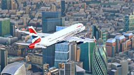 British Airways Image Flight Simulator 2020