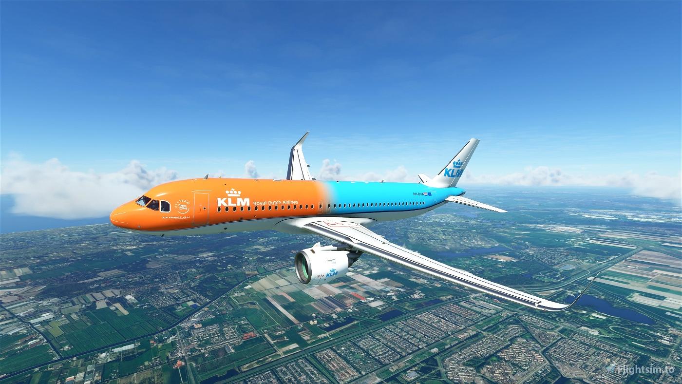 KLM A320 - Orange Pride Flight Simulator 2020