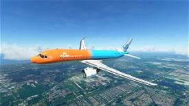 KLM A320 - Orange Pride Image Flight Simulator 2020