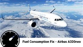Airbus A320neo Accurate Fuel Fix Image Flight Simulator 2020