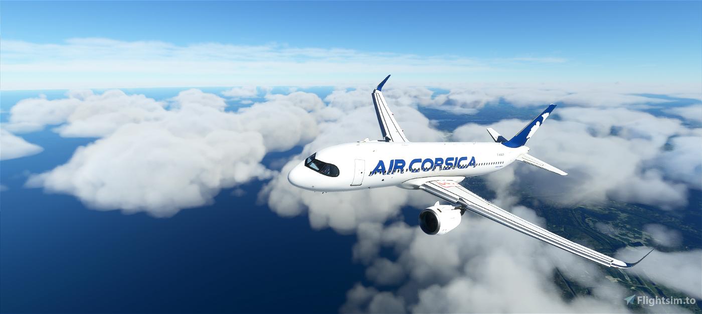 A320 Air Corsica   4K