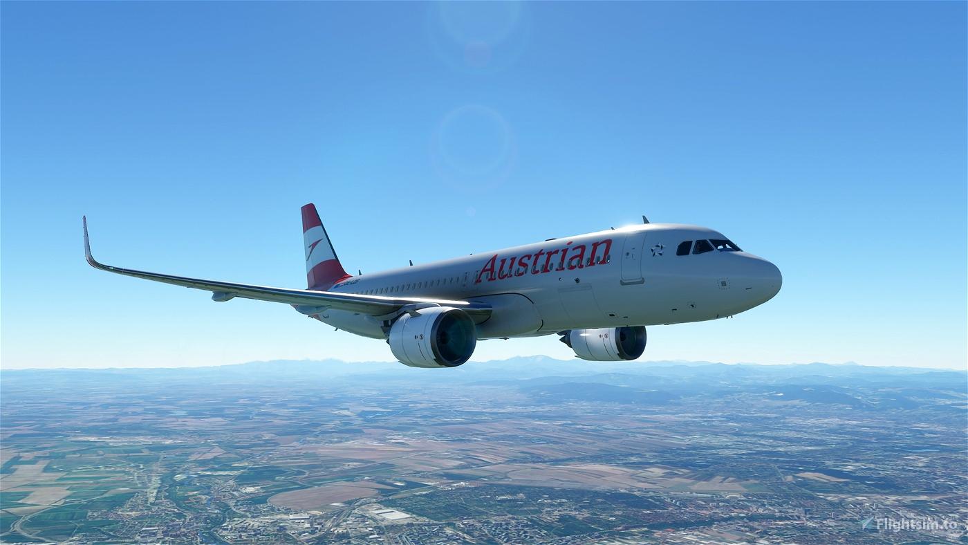Austrian OE-LZF (Version 2020 - 4K)