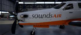 New Zealand Sounds Air TBM 930 Microsoft Flight Simulator