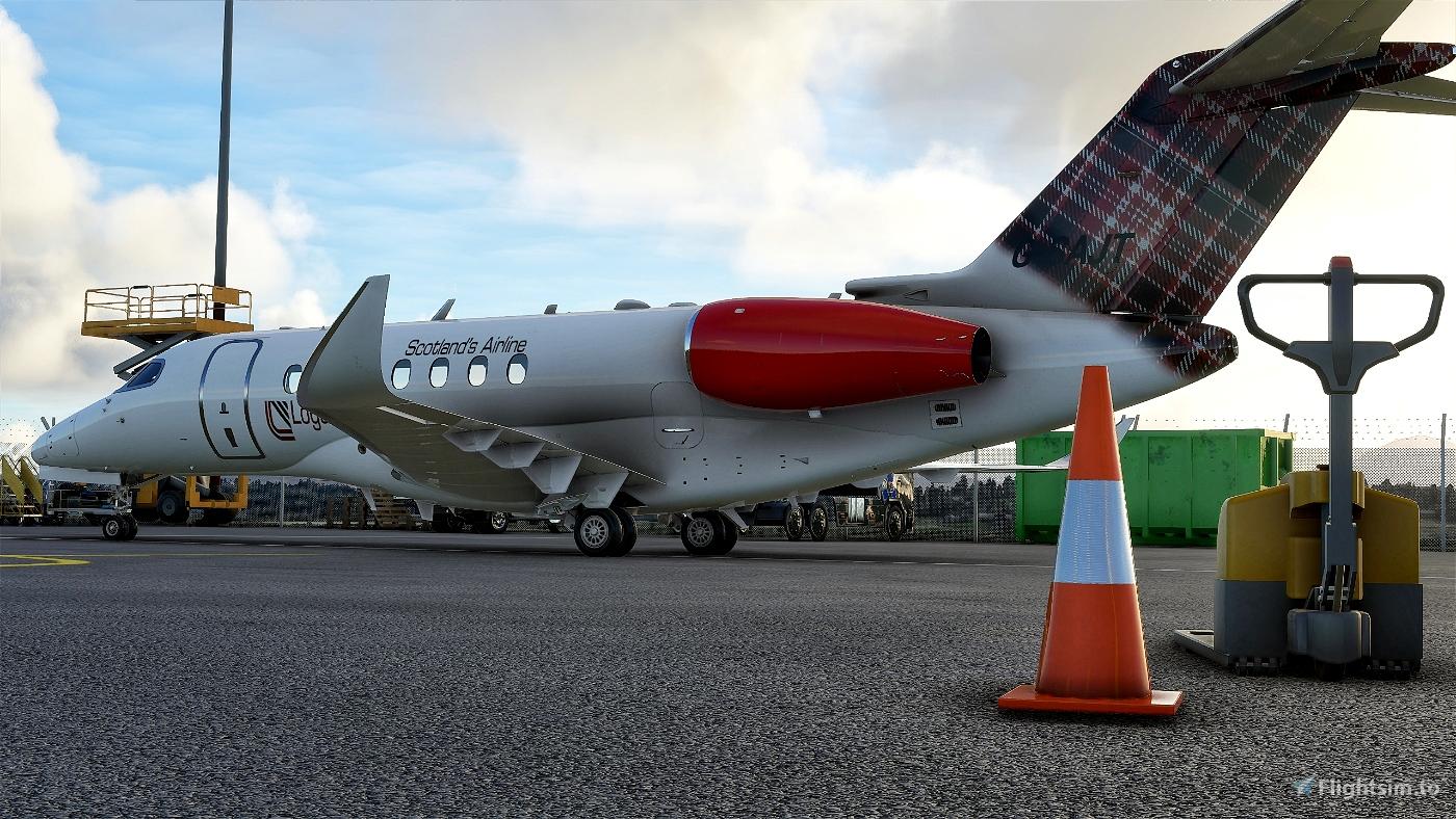 Cessna Longitude LoganAir