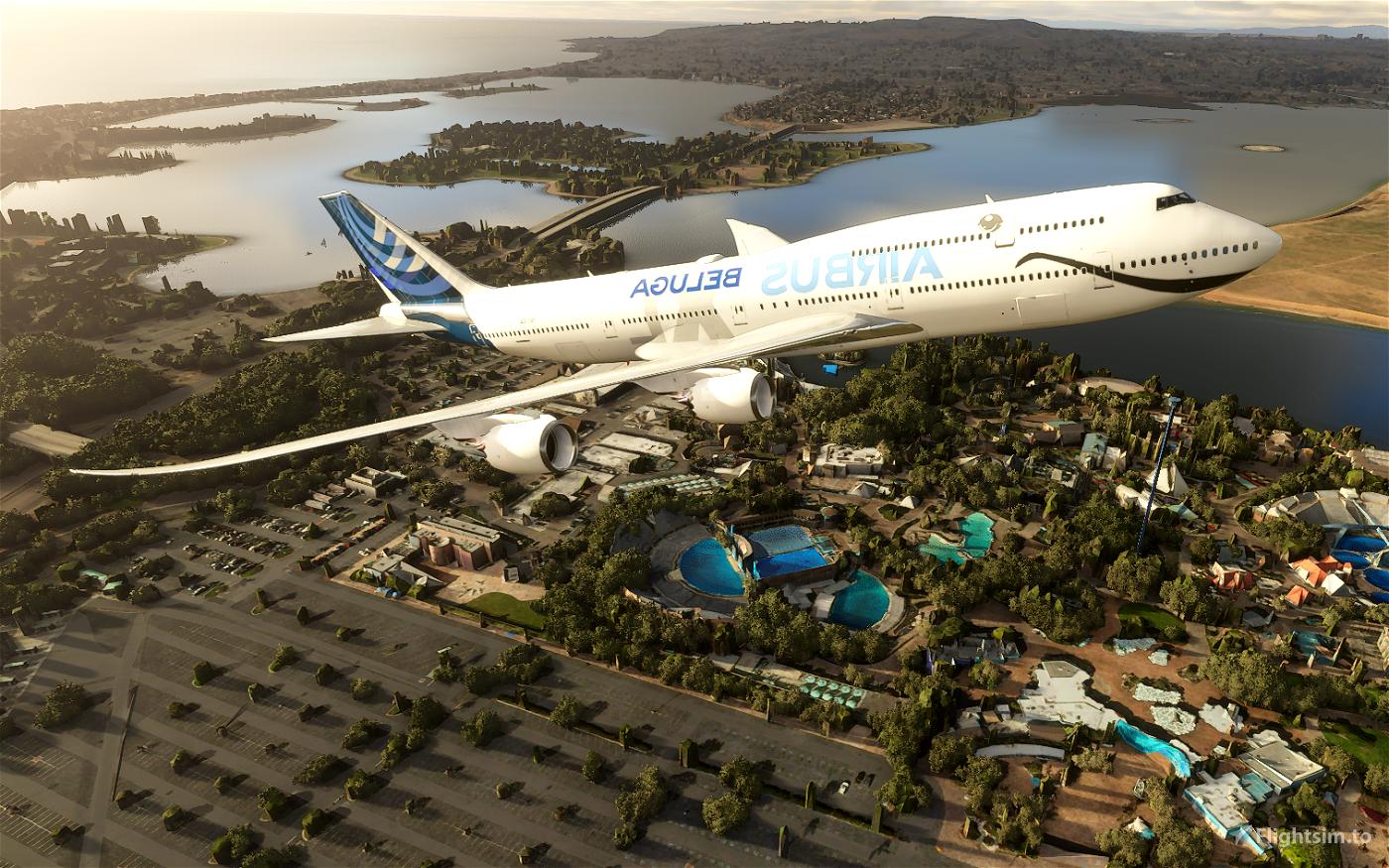 Airbus Beluga Flight Simulator 2020