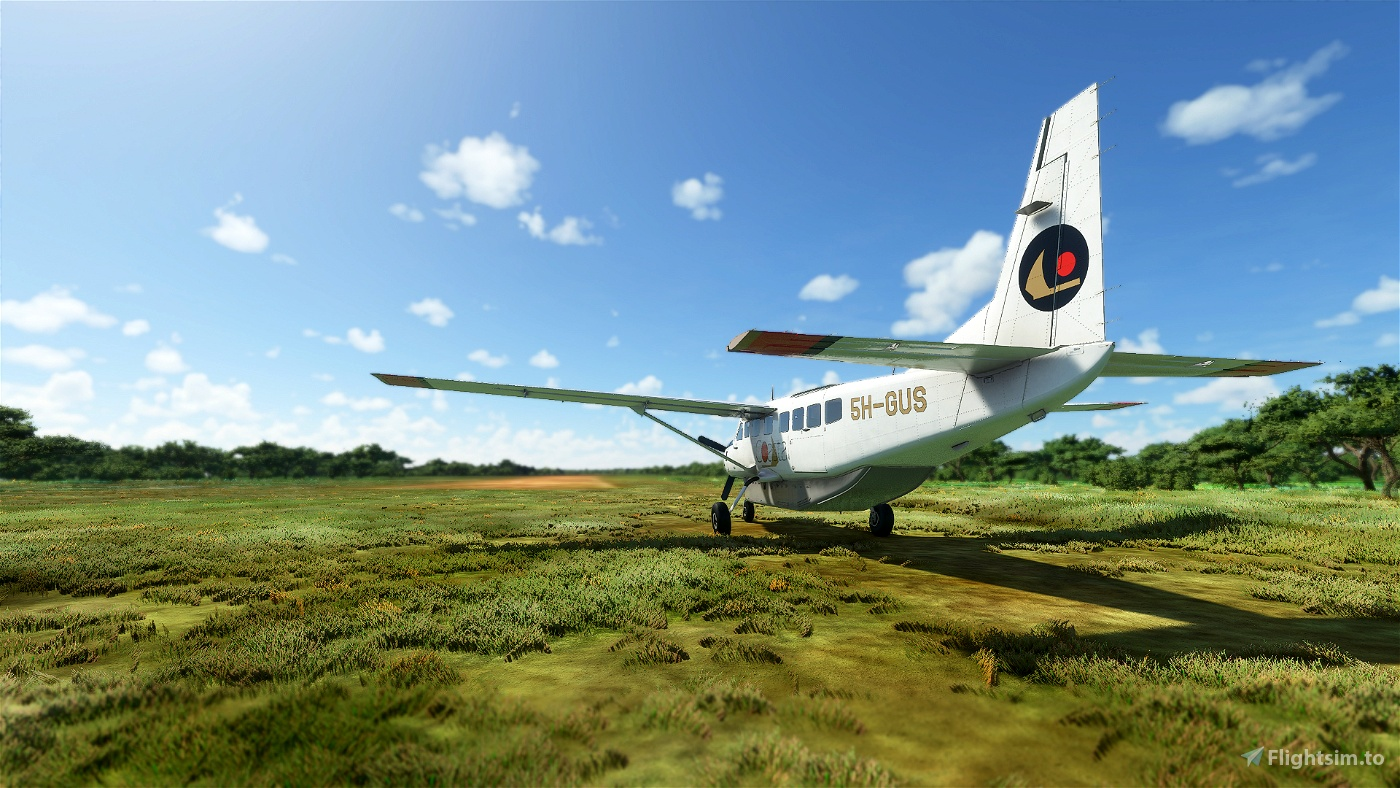Coastal Aviation 5H-GUS Cessna 208B Grand Caravan Livery