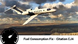 Textron Citation CJ4 Accurate Fuel Fix Image Flight Simulator 2020