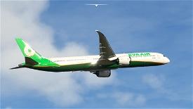 Eva Air 787-10 Image Flight Simulator 2020