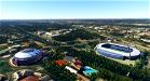 Leon City Landmarks v1, Spain Image Flight Simulator 2020